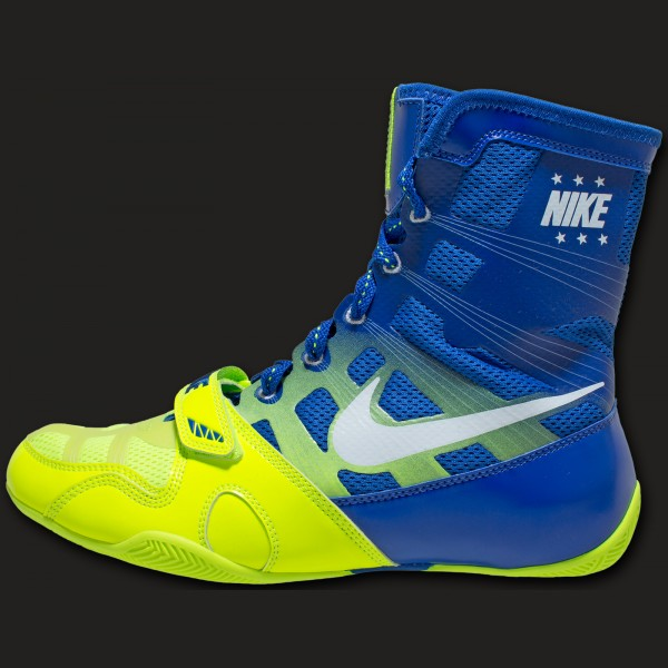 4a9f387f9a8f Nike HyperKO boxingboot Volt white royal