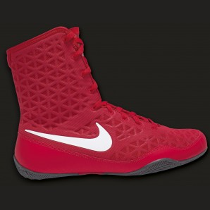 Nike KO Boxschuh Rot/weiß