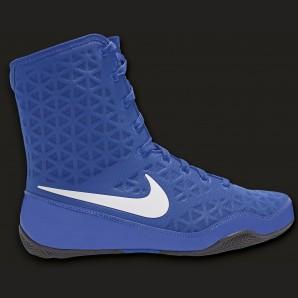 Nike KO Boxschuh Blau/weiß