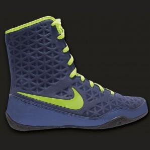 Nike KO Boxschuh Navy/Electric grün