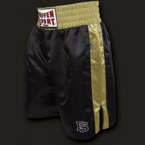PRO Profi-Boxerhose Schwarz/gold
