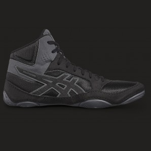 ASICS Snapdown II boxing and wrestling shoe Black/grey