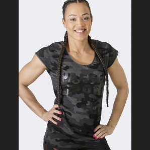 BLACK CAMO Women's T-Shirt