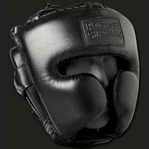 BLACK LOGO Kopfschutz für das Sparring