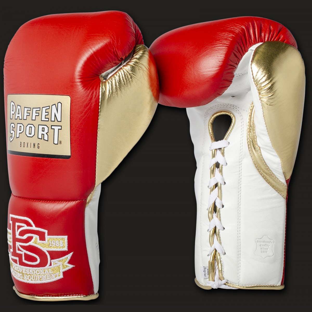 PRO MEXICAN Professional boxing gloves 10oz XL Red/gold