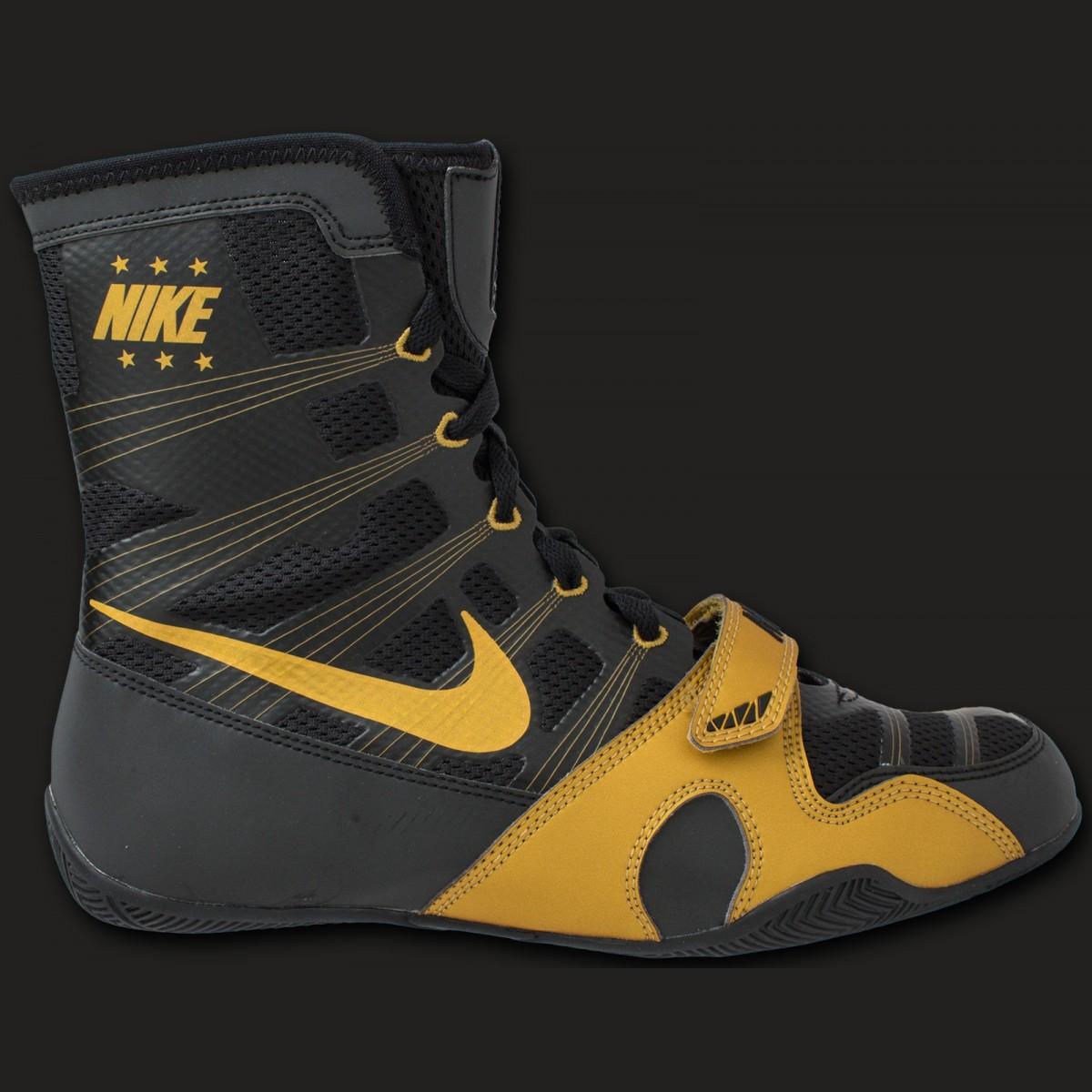 Nike HyperKO boxingboot Black/ metallic gold