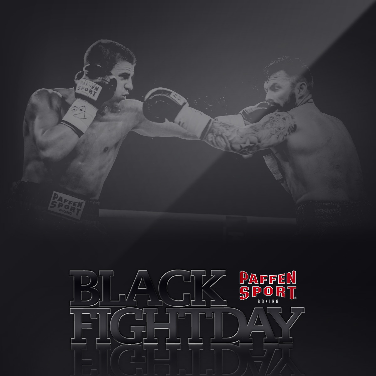 Black Fightday Paffen Sport Boxing