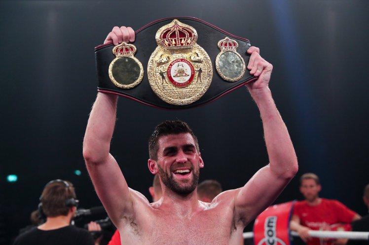 Der neue WBA-Weltmeister im Supermittelgewicht: Rocky Fielding